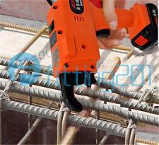 Orange Automatic Rebar Tying Machine Rebar Tier Tool single Battery 8-34mm