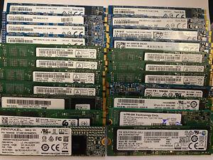 Job Lot M.2 Ssd 128gb Mixed Brand