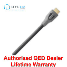 QED Performance Active HDMI Lead - 4k 3D High Speed with Ethernet - QE6011 - 8m