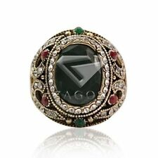 Alloy Emerald Fine Rings