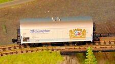 """FLEISCHMANN 8329   Weihenstephan refrigerated bier wagon      """"BOXED""""   N Gauge"""