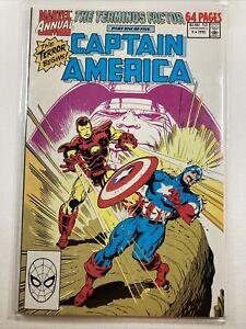 Captain America (1968 series) Annual #9 Marvel comics