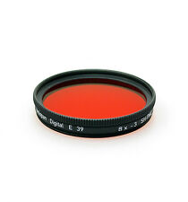 Heliopan 39mm SH-PMC Red 25 Filter. Brand New Stock