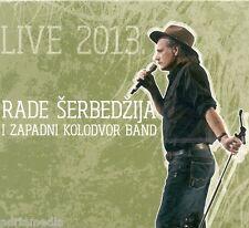 Rada Serbedzija & zapadni kolodvor volume 2 CD Live 2013 Barbara Eleno Kerko uzivo