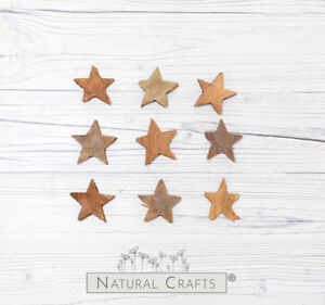 Natural Coconut Stars and Christmas Trees - christmas, garlands wreaths