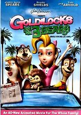 NEW DVD  JIM HENSON/UNSTABLE FABLES  /GOLDILOCKS AND THE 3 BEARS BROOKE SHIELDS,