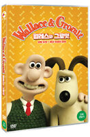 Wallace & Gromit DVD - 2 episodes - A Close Shave, A Matter Of Loaf And Death