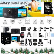 Original Akaso V50 PRO SE Action Camera Camcorder For Travel Camping Portable US