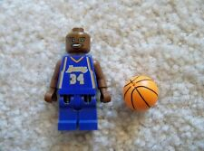 LEGO Basketball NBA - Rare - Shaquille O'Neal Los Angeles Lakers #34 w/ Ball
