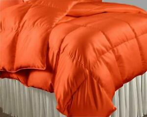 1000 Thread Count Best Satin Silk 200 GSM 1 PC Comforter US Sizes & Solid Colors
