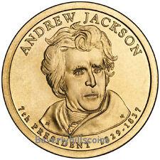 2008 Andrew Jackson President Dollar Philadelphia Denver 2 coins