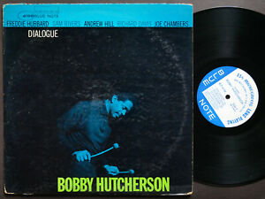 BOBBY HUTCHERSON Dialogue LP BLUE NOTE 4198 EAR MONO Freddie Hubbard Andrew Hill