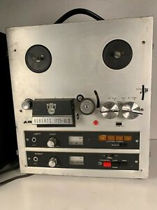 ROBERTS AKAI 1725-8L III 4-TRACK STEREO REEL TO REEL W/ BUILT IN 8 TRACK -