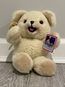 """Vintage NWT 1986 Snuggle Fabric Softener Bear 10"""" Plush Lever Brothers Russ"""