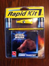 1999 Rapid Kit Star Wars Ep 1 AMT-ERTL Trade Federation Large Transport
