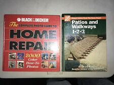 Black and Decker Complete Photo Guide: Home Repair/patios and walkways 1-2-3