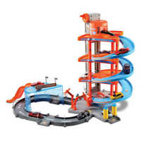 Car Toy Garage Showroom Lift Ramp Playset 1:43 Scale Model Toy Bburago Childs