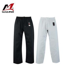 Malino Karate Trousers Pants 7oz Kids Adults Men Ladies Martial Arts Akido Pants