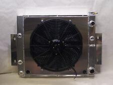 72-86 Jeep CJ CJ5 CJ7 V8 Aluminum Radiator ls motor V8 Conversion with fan