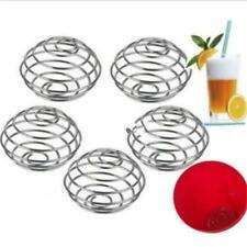Stainless Spring Wire Mixing Mixer Ball for Shaker Drink Bottle Protein Powde JJ
