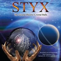 STYX - THE GRAND ILLUSIVE CRYSTAL BALLS  2 CD NEU