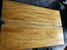 Curly satinwood GUITAR and BASS lumber. Exotic wood Laminate for luthier.
