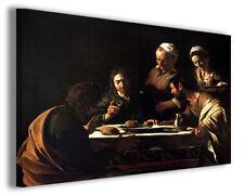 Quadri famosi Caravaggio XVII stampe riproduzioni su tela copia falso d'autore