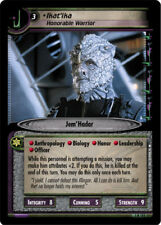 Star Trek 2E: Ikat'ika, Honorable Warrior [Mint/Near Mint] Call to Arms STCCG De