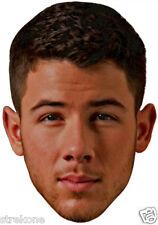 "NICK JONAS of The Jonas Brothers ""Big Head"" - Window Art Cling Decal Sticker NEW"