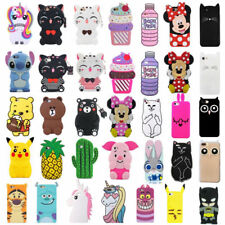 3D Cute Cartoon Soft Silicone Rubber Case Cover Skin For Samsung J3 5 7 2016 S9