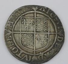 "Elizabeth I Shilling sixth issue ""A"" Mint Mark"
