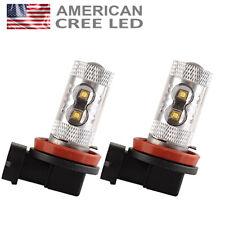 2 x 50w Cree H11 Fog Light Bulbs Bright White 711 64211