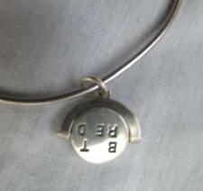 JAMES AVERY silver Best Friend silver swivel spinner charm bracelet retired