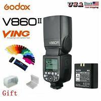 Godox V860II-N 2.4G Camera Flash Speedlite TTL Li-ion Battery Wireless for Nikon