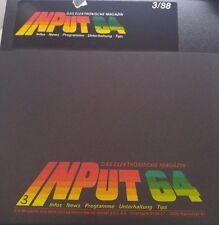 Input 64 3/88 1988 C 64 Diskette