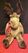 Menagerie Holiday Christmas Stuffed Animal Moose Plush Toy Mary ChristMoose Soft