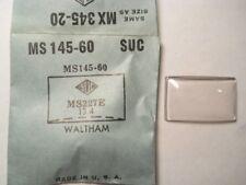 SUC MS145-60 GS MX345-20 PMX345-20 Watch Crystal 22.7 13.4 FITS WALTHAM PEABODY