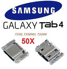 "50X Micro USB Charging Port Connector Samsung Galaxy Tab 4 8"" T330 T330NU T330N"