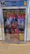 Iron Man #128 CGC 9.8 1979 Classic Demon in a Bottle alcoholism story