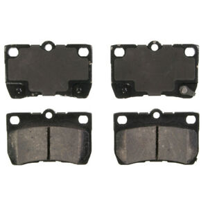 Disc Brake Pad Set Rear Federated D1113C