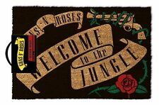 Guns N' Roses (Welcome To The Jungle ) 100% Coir Rubber Back Door Mat GP85085