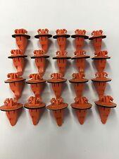 QTY 20: Orange Toyota Wheel Flare Moulding Clip 75397-35010 USA SHIPPER