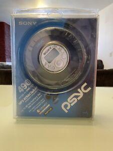 NEW SONY D-NF420 CD Walkman Psyc Atrac3Plus CD/MP3/FM/AM/TV/WEATHER MP3 Player