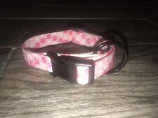 Nice NWOT Pink Dog Collar Sz Small / Medium Adjustable