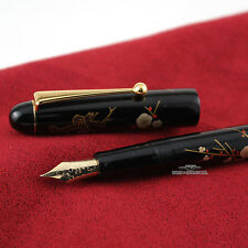 Pilot Namiki Makie Flowers of Plum Tree Fountain Pen - Medium 14ct Gold Nib