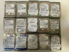 """Lot de 15 disque dur 2,5"""" SATA HDD 500Go, 320Go 250Go"""