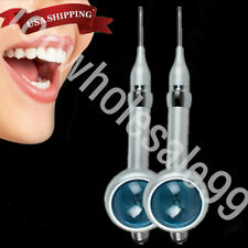 2x Dental 4 Hole Air Flow Teeth Polisher Handpiece Hygiene Prophy Jet Polishing