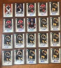 2005-06 PARKHURST - LOT OF 182 PARKHURST SIGNATURE AUTO CARDS LOOK AT PICS. WOW