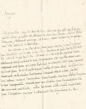 "Marquis de SADE / Lettre autographe signée / ""Je ne serai jamais émigré"" 1793"