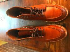 Mens J Crew Kenton Leather Boots Size 10 249:00 SRP